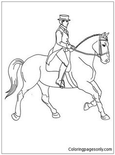 14 Best Horse Coloring Pages Images On Pinterest In 2018