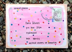 fairy biscuit envelope  BLOG WITH MORE