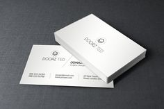 Simple minimal business card minimal business card business cards minimal business card by orcshape on creativemarket reheart Images