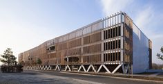 Parking in Soissons / Jacques Ferrier Architectures | ArchDaily