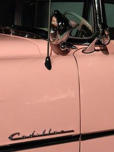 Element of Elvis's Pink Cadillac – Car Museum – Graceland (Elvis Presley Mansion) – Memphis – Tennessee – USA – 01 Cadillac Cts Coupe, Cadillac Eldorado, Cadillac Escalade, Pink Cadillac, 1959 Cadillac, Cadillac Fleetwood, Aesthetic Vintage, Pink Aesthetic, Retro Cars