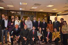 Meeting diplomático en la Embajada de  #Indonesia en Buenos Aires. Agradecemos a todo el personal, hemos trabajado con entusiasmo para la puesta en marcha de una presentación del perfil país a cargo del Embajador Jonny Sinaga para más de treinta empresarios.