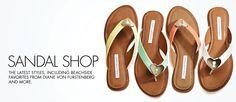 Diane von Furstenberg Women's Kyra Sandal~~Love these, but not for $150!