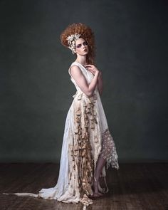 The Tea Bag Dress by Blacklotusclothing on Etsy, $750.00