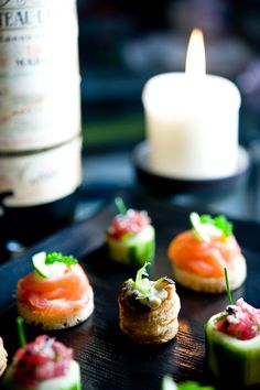 Canapes and snails on pinterest for Canape ideas for dinner party
