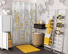 Luxury Luxury Yellow And Grey Bathroom Ideas Grey Yellow Bathroom Interior Yellow Bathroom Accessories, Yellow Bathroom Interior, Yellow Bathrooms, Bathroom Grey, Modern Bathroom, Yellow Interior, Modern Shower, Bathroom Mirrors, Bathroom Colors