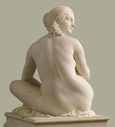 """L'Odalisque"" de James Pradier, marbre de 1841"