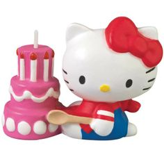 Hello Kitty Birthday Candle | 1ct for $4.07 in Hello Kitty - Party Themes