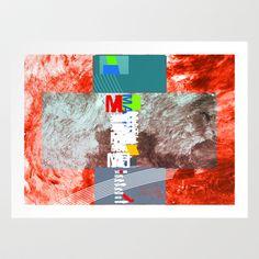 Persevering Graphic Designer Art Print by David Nuh Omar - $22.88