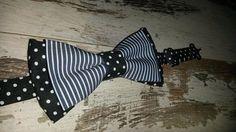 Guarda questo articolo nel mio negozio Etsy https://www.etsy.com/it/listing/289490839/papillon-unisex-stripesdots-bowtie