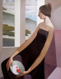 La ventana- Armando Barrios Art, Design and Decor from the Mid-Century and beyond: Armando Barrios Paintings