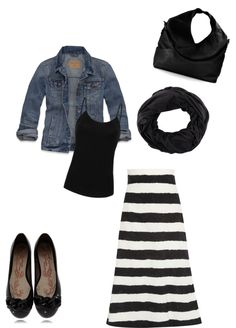 """comfy black and white"" by brandyswife ❤ liked on Polyvore"