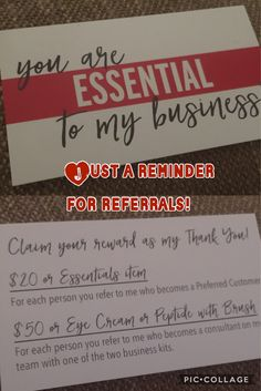 I have a referral program if you refer to me someone that becomes a Perks customer you will get a free gift! You can do this whether you are already a customer or not! You could also choose to become a consultant and keep that customer for yourself either way we both gain something! Why not you why not now? #Melindasrfskincare #yourrfskincare