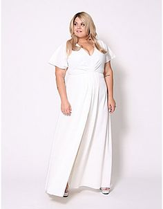 3f52661073a Split-Front Maxi Dress by Christian Siriano