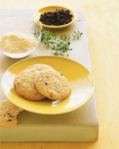 Cornmeal-Thyme Cookies Recipe