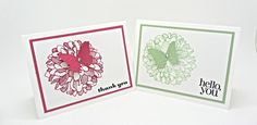 Regarding Dahlias Card Set with the Stampin' Up!  In Colors