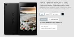 With rumours circulating of a Nexus 9 launch mid-next month, there's possibly something in the fact that customers checking stock levels on all variants of the Nexus 7 (2013) on the Australian Google Play store are being told 'We are out of stock. Please check back soon'. It could also be nothing, with the tablet having previously gone out of stock, with stock being replenished after a brief time. Though it could be nothing, [Read More...]