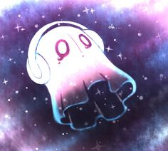 napstablook by LuvRuby