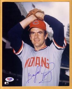 gaylord perry rookie card | gaylord perry indians signed 8x10 photo psa dna signed gaylord