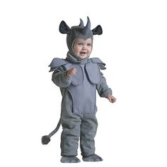 Introducing Harry Shops Halloween Cute cartoon rhino Kids Costume. Great Product and follow us to get more updates!