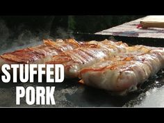 Enjoy a Delicious & Mouthwatering Stuffed Pork Neck - By DreamzKitchen Kitchen Sale, Cooking Videos, Side Dishes, The Best, Bacon, Pork, Stuffed Peppers, Make It Yourself, Pork Roulade