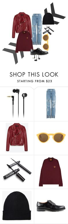 """Fry"" by xxelectre on Polyvore featuring Sennheiser, SJYP, Jakke, CÉLINE, Margaret Howell e Valentino"