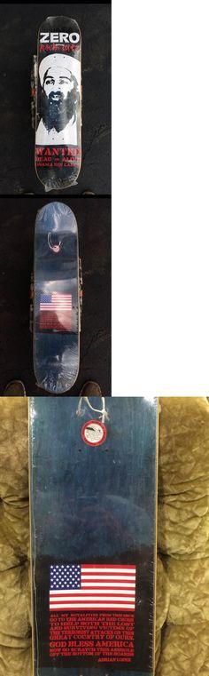 Posters 58127: Rare! Zero Bin Laden Adrian Lopez Skateboard Vintage -> BUY IT NOW ONLY: $299.99 on eBay!