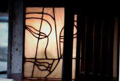 Lampada tiffany style /Buddha design