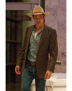 "My favorite Raylan quote: ""My daddy taught me not to be afraid of heights, snakes or red-headed women."""