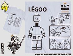 Sólo Pienso En Camisetas: LËGOO Peanuts Comics, Lego, Monkey King, T Shirts, Legos