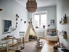 A destination for the lovers of fashion, interior styling, and design. Baby Bedroom, Baby Boy Rooms, Baby Boy Nurseries, Nursery Room, Kids Bedroom, Baby Corner, Nursery Neutral, Home Fashion, Nursery Inspiration
