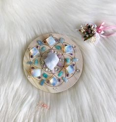 Excited to share the latest addition to my #etsy shop: 10cm Calm and Serenity Complete Set of Crystal Grid