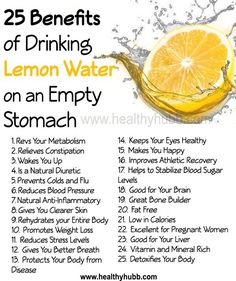 25 Incredible Benefits of Drinking Lemon Water on an Empty Stomach!  #alkaline…                                                                                                                                                                                 More