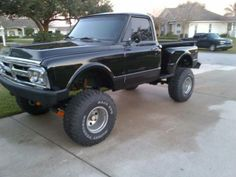 1967 GMC Shortbed Stepside 4x4
