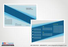 A4-Creative Trifold BrochureTemplate for Corporate Template, Business, Education, College...