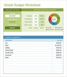 basic budget form