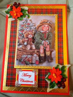 If you need any help with your Card Making please post a comment, and I will get back to you as soon as I can. Handmade Christmas, St Patricks Day, Your Cards, Clever, Christmas Cards, Card Making, Merry, Paper Crafts, Decorations