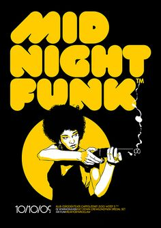 funk at the midnight party poster
