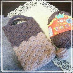 好きなもの全部のせ : 松編みの3DSケース