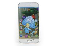 Langue russe Parler Masha et Ours jouets Bébé Mobile téléphone de Téléphone poupée Électronique Musicale Interactive Jouets pour enfant enfants