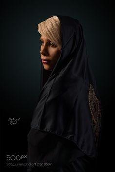 Hijab by behzad_rad #Models #Fashion #GlamourPhotos #FashionPhotography