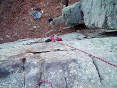 I miss Repelling at Palasades Park, Oneonta Alabama - it's a lot of fun!! The view is breathe taking atop