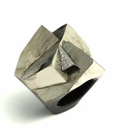 Grima Creations; PYRITE RING, 2013