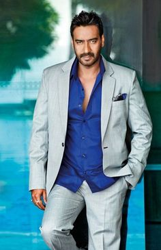 Looking for information about Ajay Devgn? Check this page to know the detailed biography of Ajay Devgn- his age, career, affairs, controversies, marriage and much more! Hollywood Actor, Hollywood Actresses, Actors & Actresses, Indian Bollywood Actors, Bollywood Stars, Girl Photos, Family Photos, Ted Cassidy, India Actor