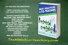 'Best Practices in Co-Teaching' offers meaningful ways to connect with your students and have a productive strategy working with your co-teacher. Co Teaching, Teaching Strategies, I Wish I Knew, Special Education Teacher, Best Practice, Paperback Books, Collaboration, Connect, Finding Yourself