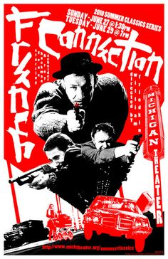 #photo The French Connection by @WilliamFriedkin - japanese poster