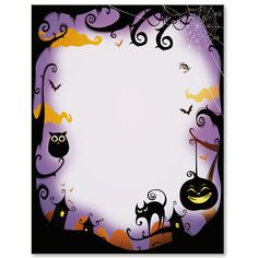Halloween Birthday Invitations By Way Of Using An Impressive Design Concept For Your Elegant Baby Shower Invitation Templates Fairy Halloween Costumes, Theme Halloween, Halloween Clipart, Couple Halloween, Halloween Night, Halloween Cards, Halloween Decorations, Paper Halloween, Halloween Borders