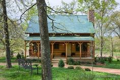 Clayton Log Cabin fits a family of 8  Micoleys picks for #CabinGetaway www.Micoley.com Log Cabin Homes, Log Cabins, Log Cabin Living, Mountain Cabins, Getaway Cabins, Log Cabin Floor Plans, Cabin Plans, Tiny House Plans, Crossville Tennessee