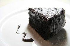 Chocolate Cake with Hot Chocolate Fudge Recipe