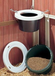 Burly Bucket - Utility Feed Carts, All Purpose Feed Buckets, Muck Buckets & More! from tacktrunks.net